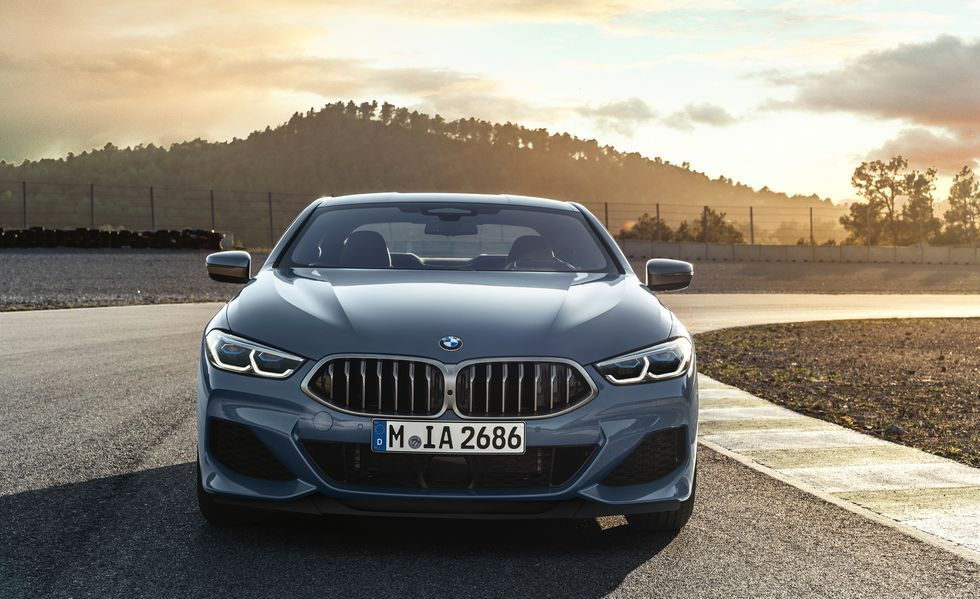2020 BMW M850i Coupe Front View