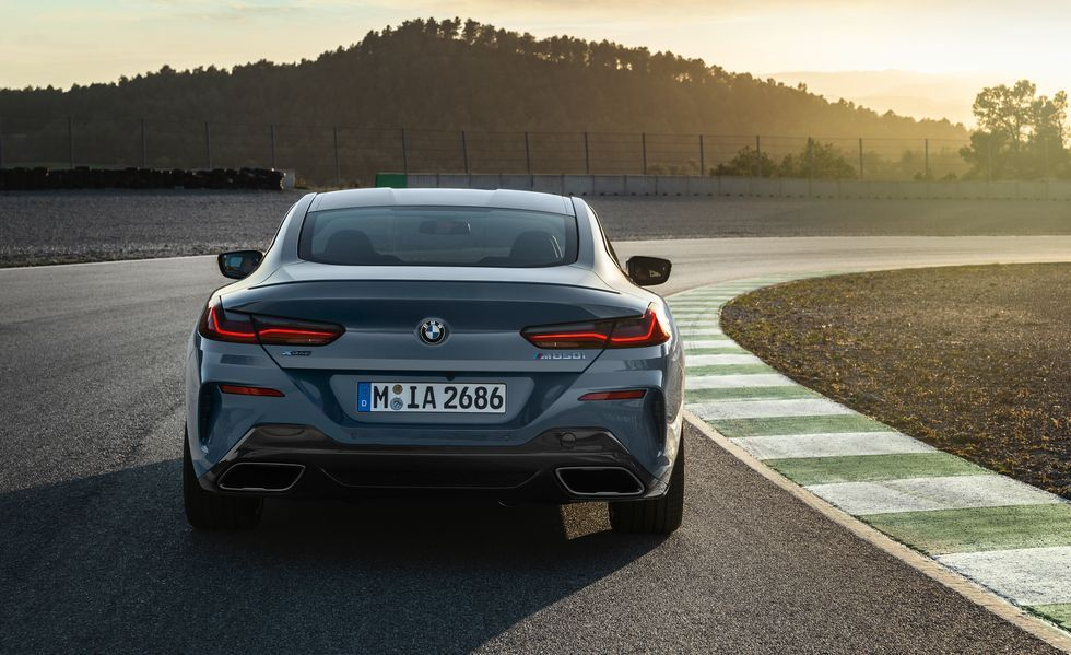 2020 BMW M850i Coupe Rear View