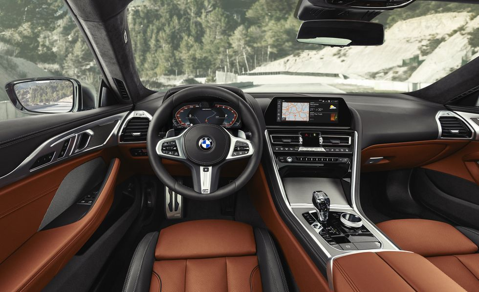 2020 BMW M850i Coupe Interior