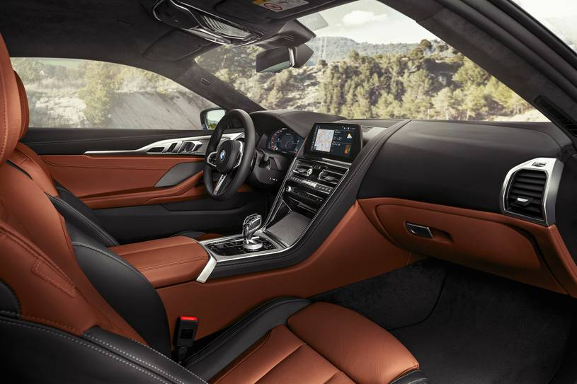 2021 BMW M850i Coupe Interior Image