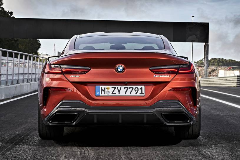 2021 BMW M850i Coupe Rear View