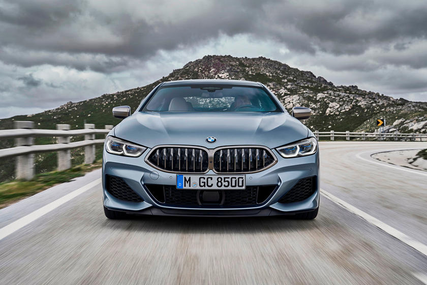 2021 BMW M850i Gran Coupe front view