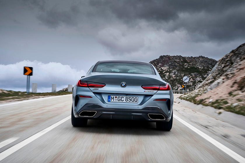 2021 BMW M850i Gran Coupe rear view