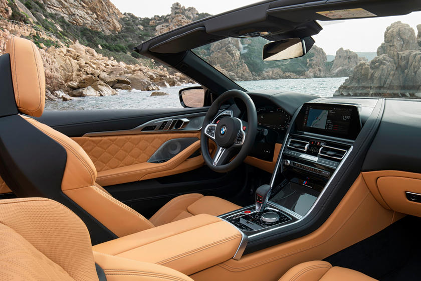 2020 BMW M8 Convertible Front Seats