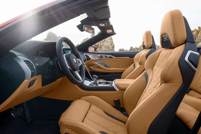 2020 BMW M8 Convertible Seats