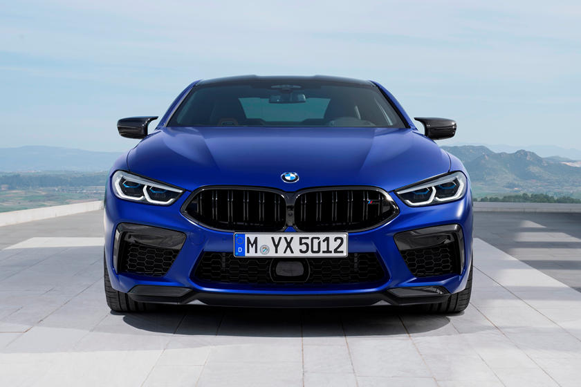 2020 BMW M8 Coupe Front View