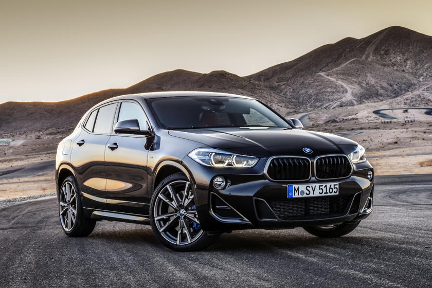 2020 BMW X2 front view