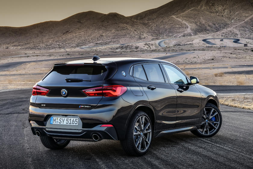 2020 BMW X2 rear view