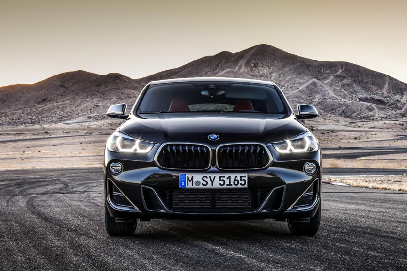 2020 BMW X2 SUV front view