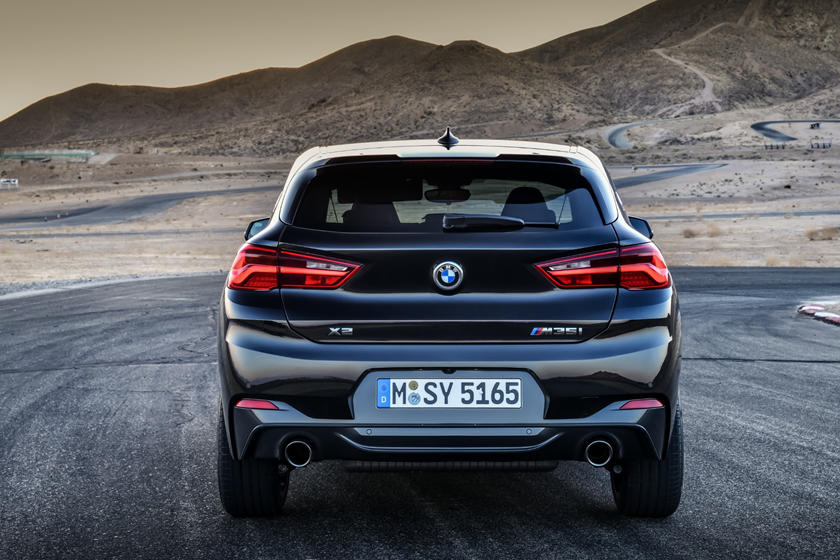 2021 BMW X2 SUV Rear View