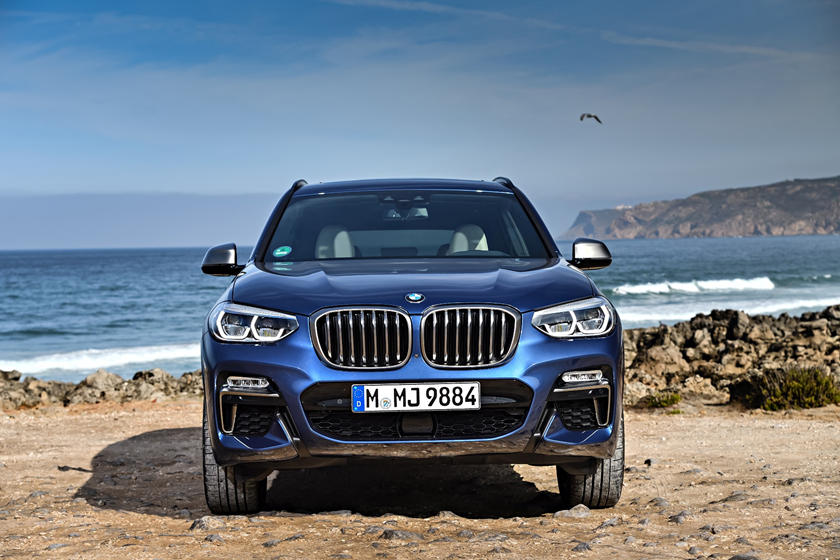 2019 BMW X3 SUV Front Angle View
