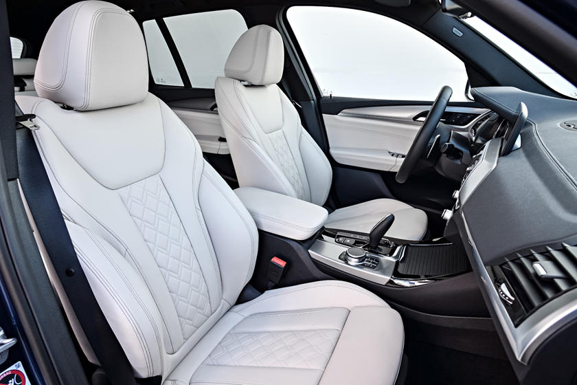 2020 BMW X3 SUV Front Seats