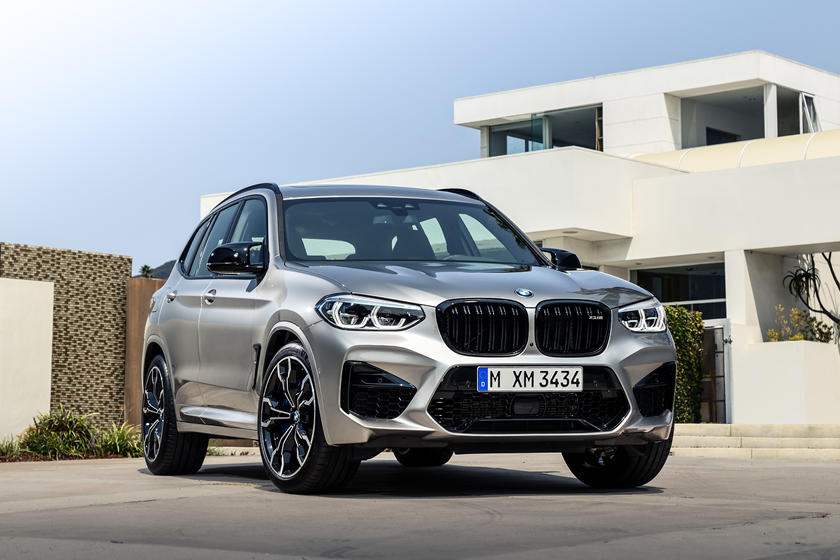 2021 BMW X3 M SUV front view