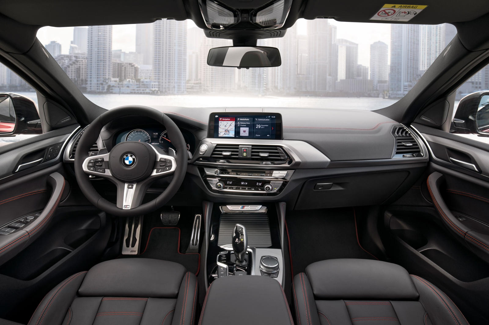 2020 BMW X6 SUV Dashboard