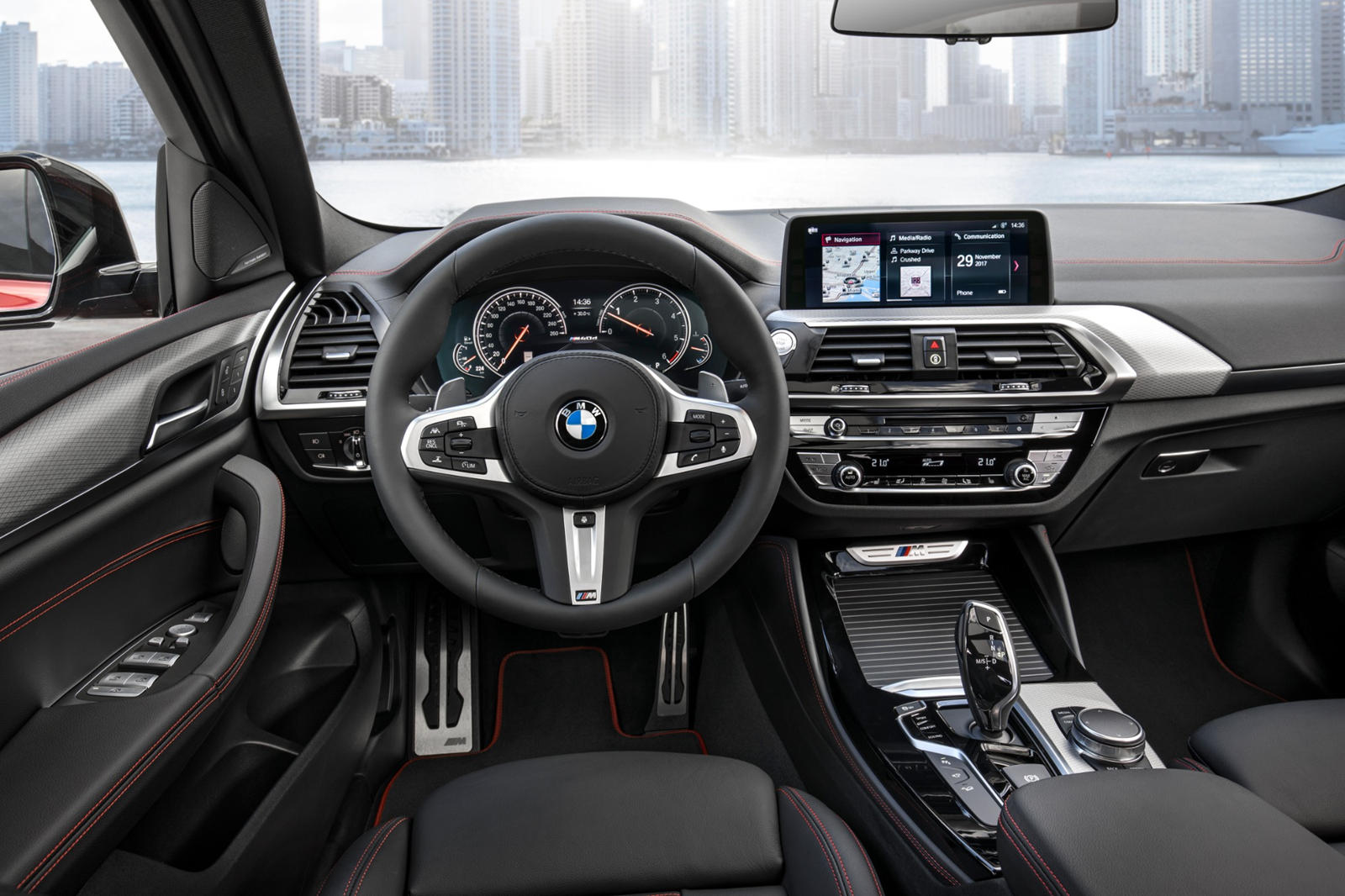 2020 BMW X6 SUV Interior