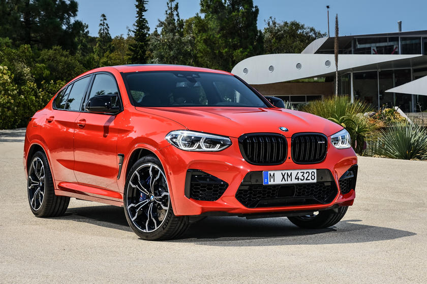2020 BMW X4 M SUV Front View