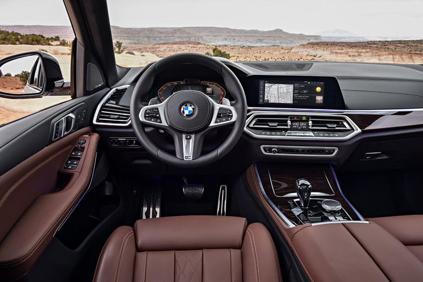 2020 BMW X5 SUV Steering wheel