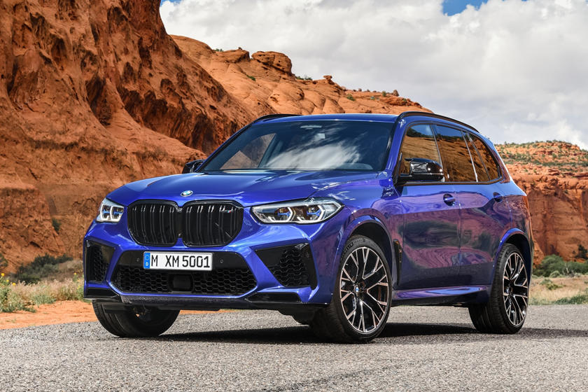 2020 BMW X5 M50i SUV Front View
