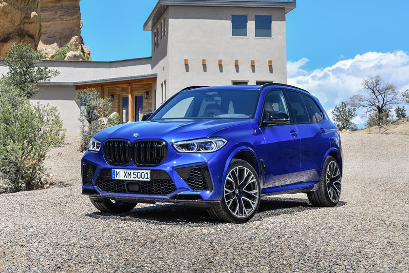 2020 BMW X5 M SUV Front View