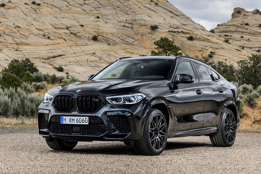 2020 BMW X6 M Crossover Front View
