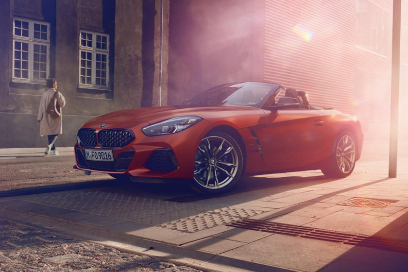 2020 BMW Z4 Convertible Front View