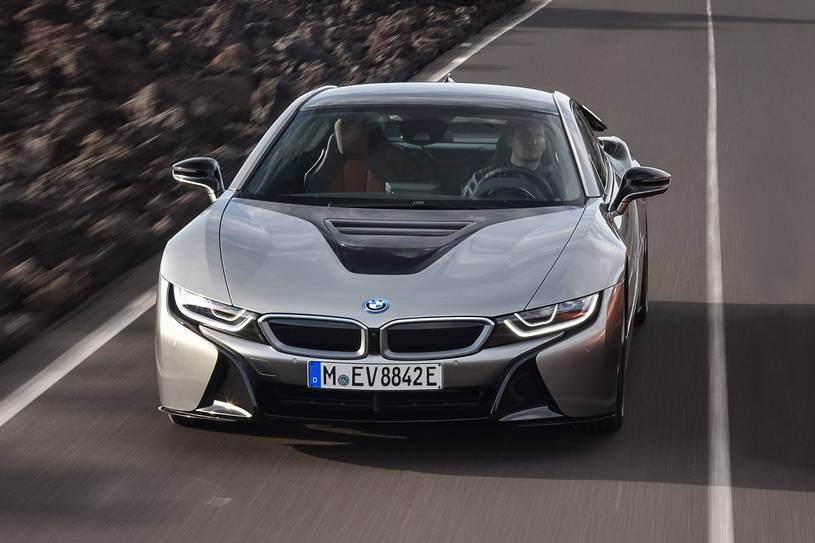 2020 BMW i8 Coupe Front View