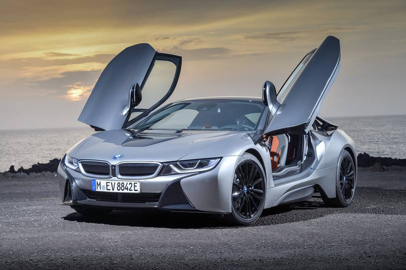 2020 BMW i8 Coupe Three Quarter View