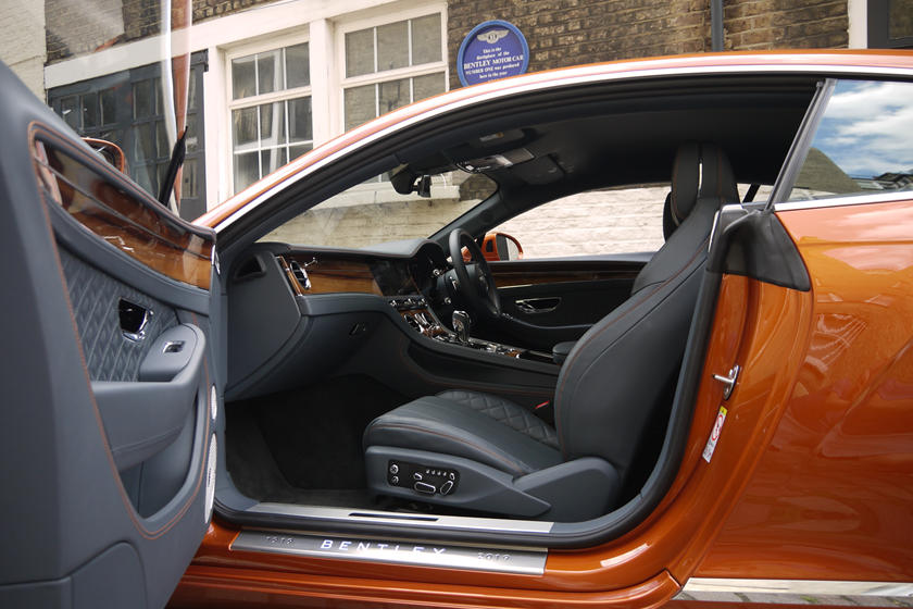 2020 Bentley Continental GT W12 Coupe interior