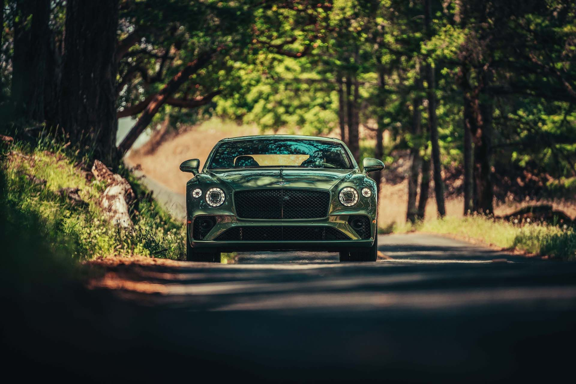 2020 Bentley Continental GT V8 Coupe Front View
