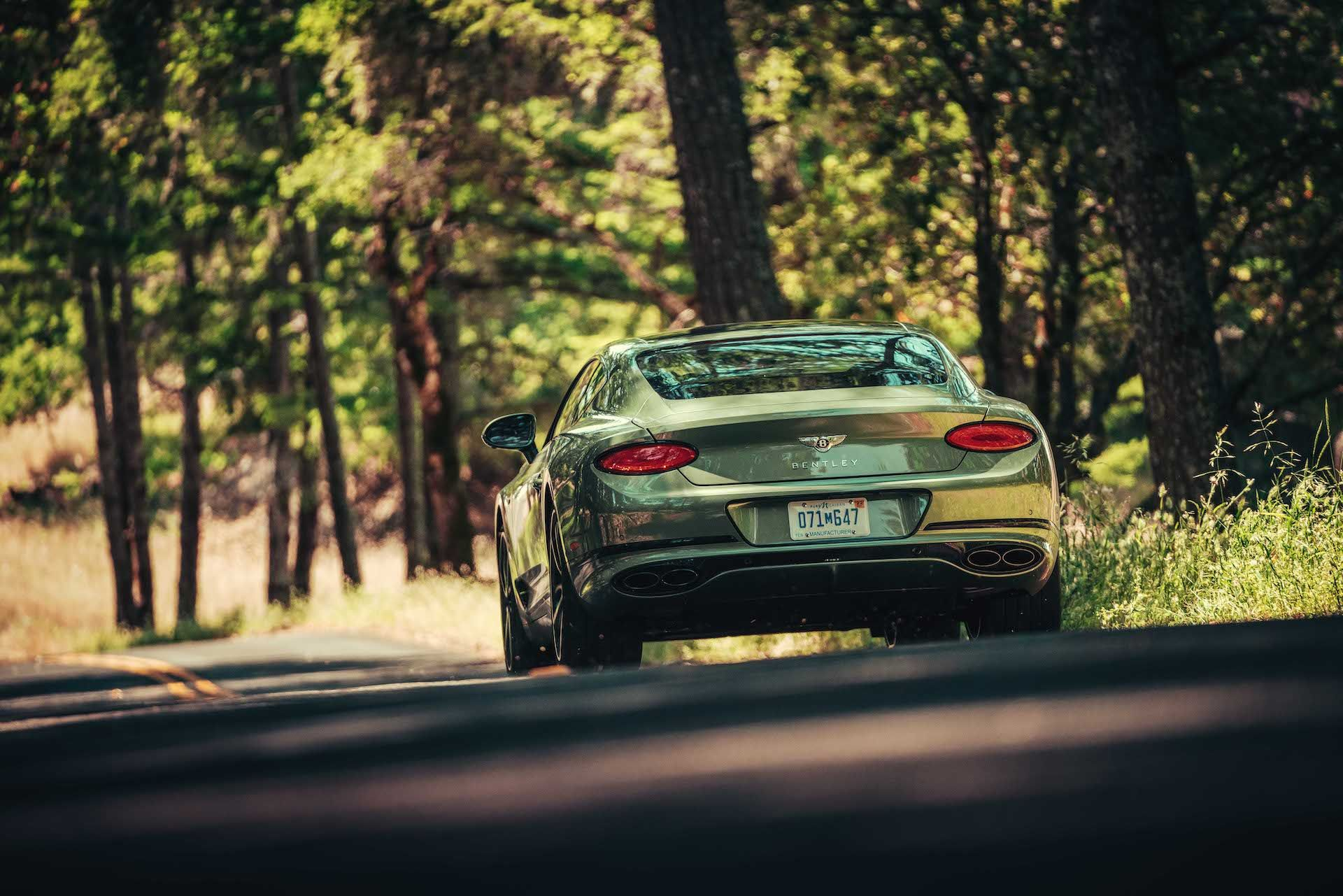 2020 Bentley Continental GT V8 Coupe Rear View
