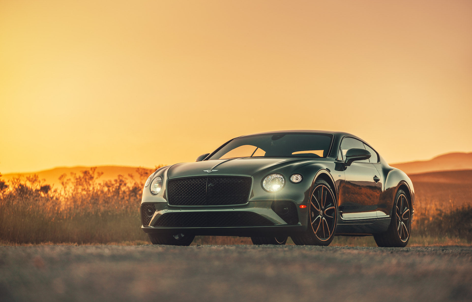 2020 Bentley Continental GT V8 Coupe Exterior