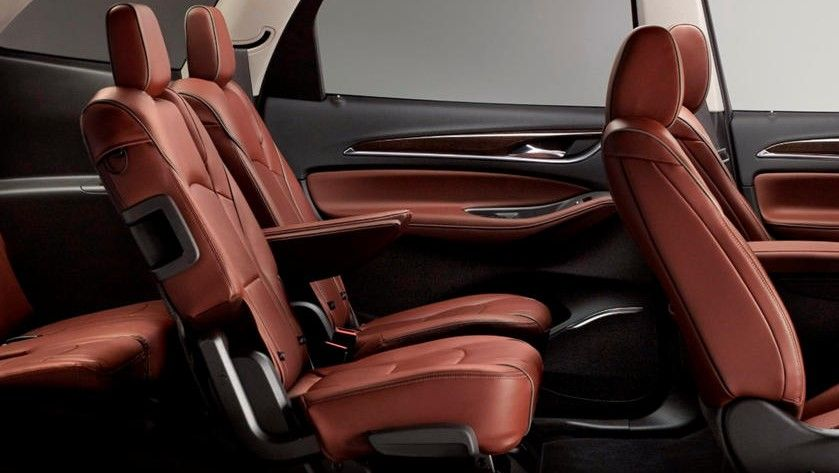 2021 Buick Enclave SUV Seating Layout