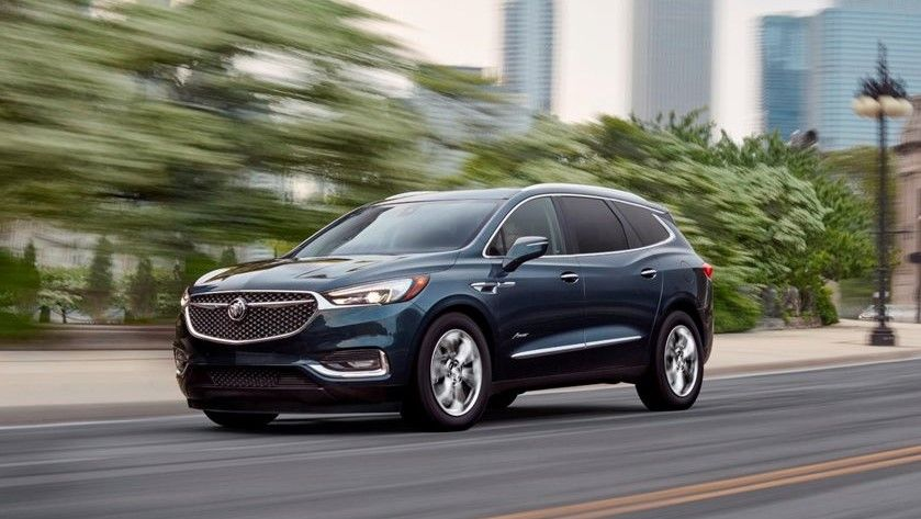 2021 Buick Enclave SUV Front Side Three Quarter View