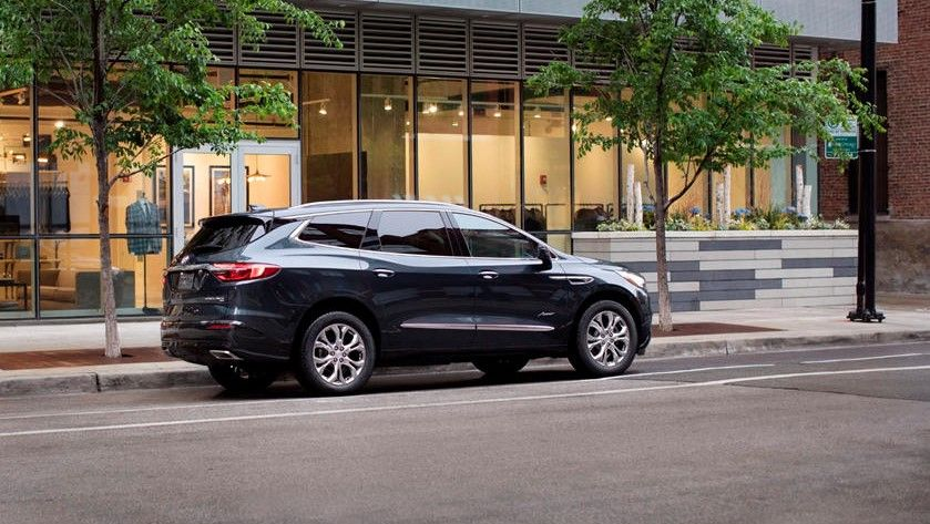 2021 Buick Enclave SUV Rear Side Three Quarter View