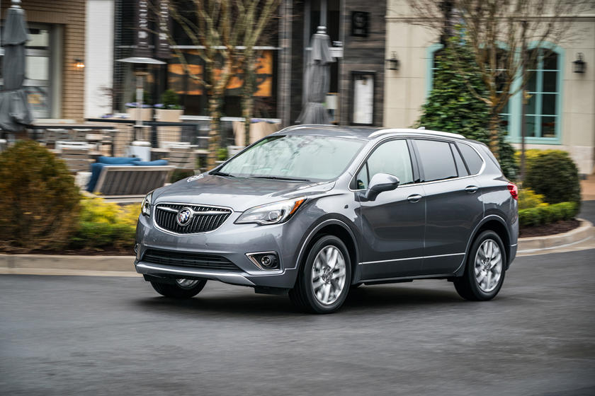 2020 Buick Envision SUV 3rd quarter View