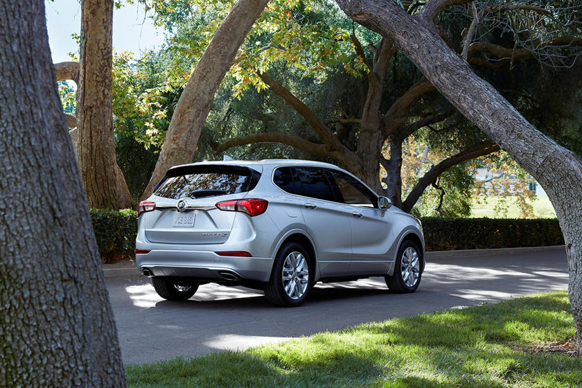 2020 Buick Envision SUV Rear View