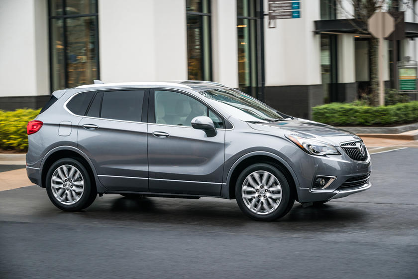 2020 Buick Envision SUV side view