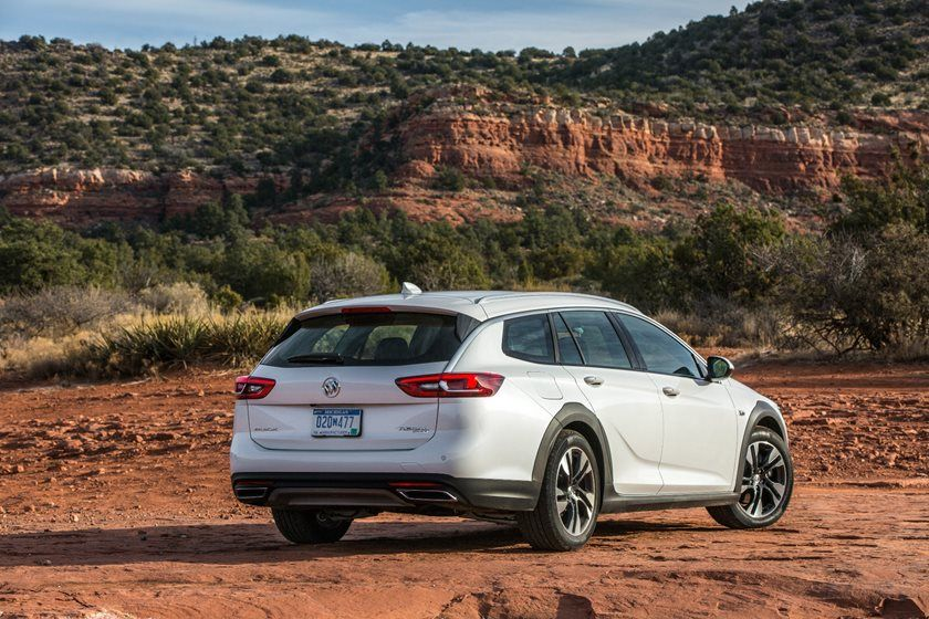 2020 buick regal tourx wagon review  ratings  mpg and prices
