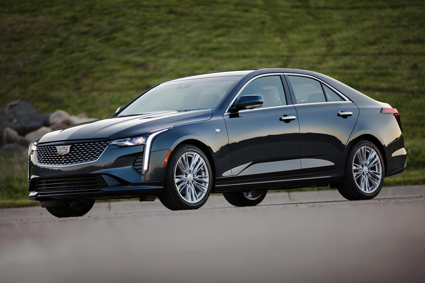 2020 Cadillac CT4 Sedan Front View