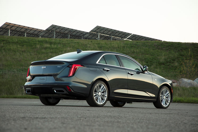 2020 Cadillac CT4 Sedan Rear View