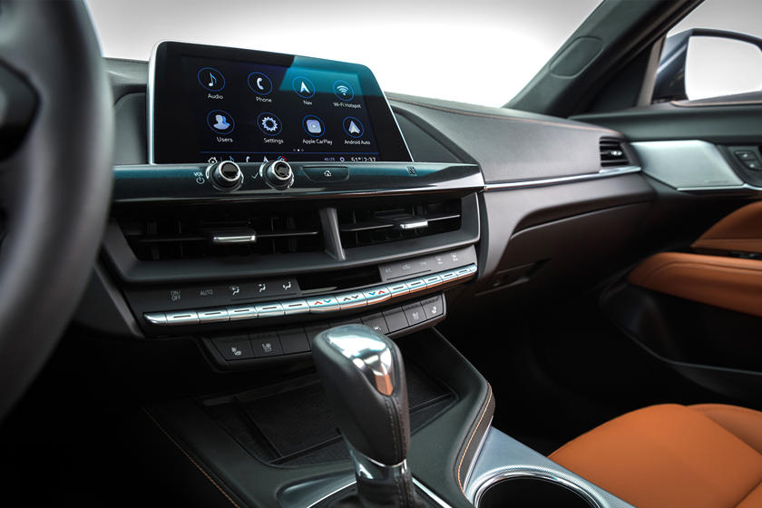 2020 Cadillac CT4 Sedan Interior