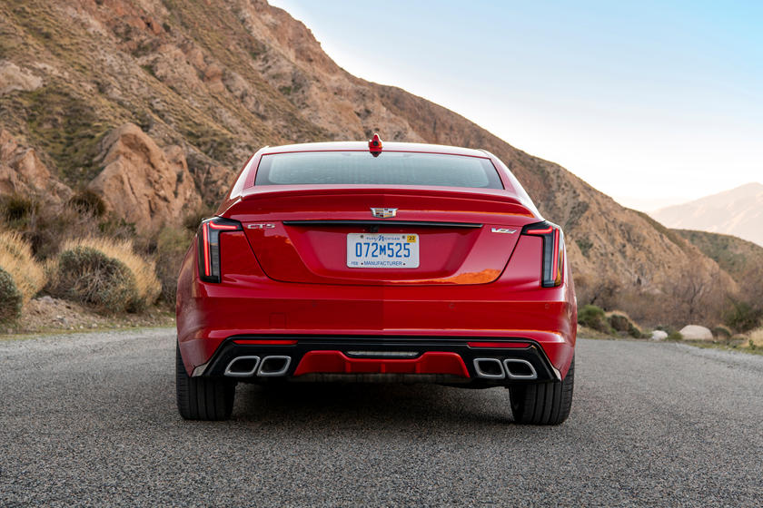 2021 Cadillac CT5-V Sedan rear view