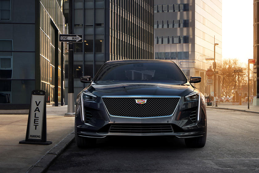 2020 Cadillac CT6 V Sedan Front View