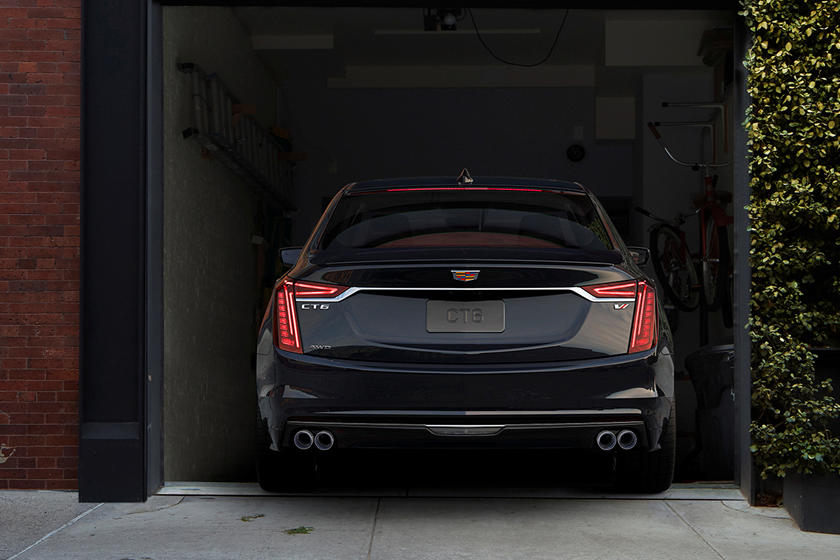 2020 Cadillac CT6 V Sedan Rear View