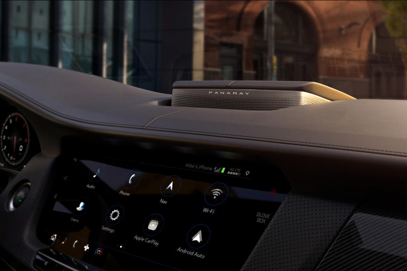 2020 Cadillac CT6 V Sedan Interior