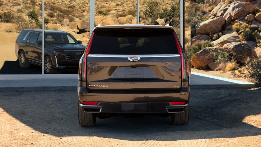 2021 Cadillac Escalade SUV Rear View