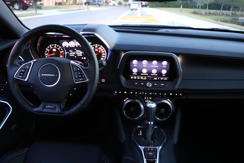 2020 Chevrolet Camaro Convertible Dashboard