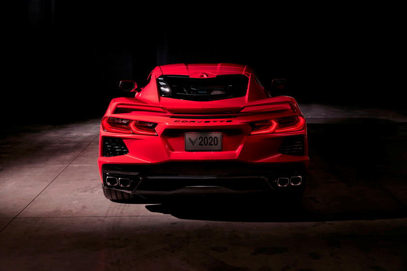 2021 Chevrolet Corvette Stingray Coupe Rear View