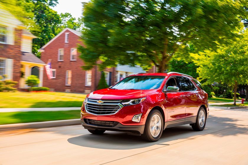 2020 Chevrolet Equinox SUV Front View