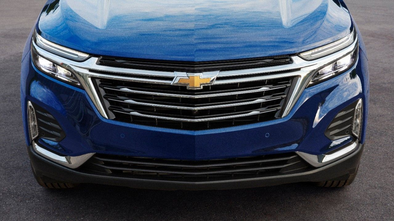 2022 Chevrolet Equinox get refreshed front grille and LED headlights